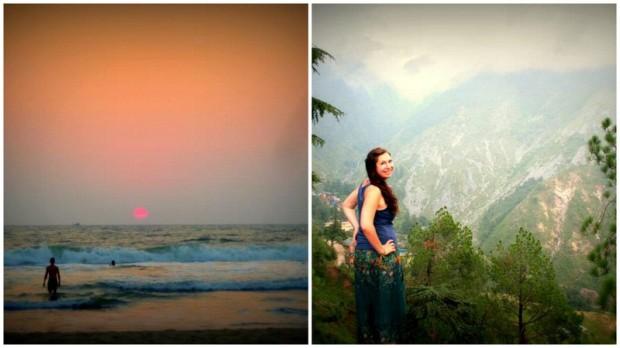 weiße sandstrände bis hin zu den gipfel des himalaya. inda's got it.