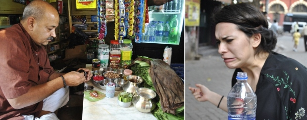 indischer munderfrischer wird hergerichtet... und schmeckt nessi nicht.