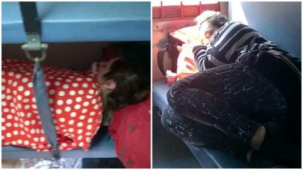 schlafen am backpack führt zu verspannungen.