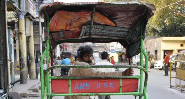 Tuk Tuk. Old Delhi.